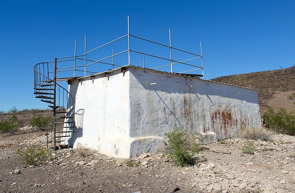Pump facility at Agua Caliente (2018)