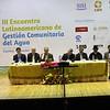Inauguración del Tercer Encuentro Latinoamericano de Gestión Comunitaria del Agua, Cuenca Ecuador, Sept. 2012 (Foto Avina)