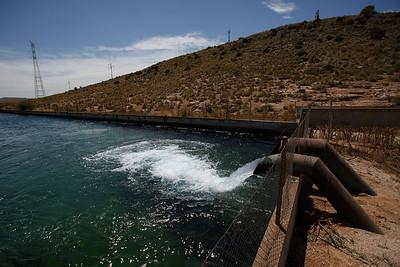 La trama del agua en el río Segura