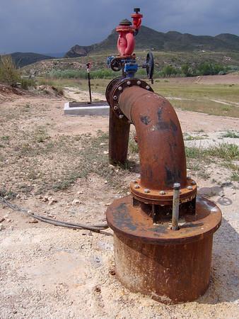Los pozos ilegales, el delito de robar agua