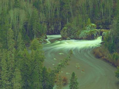 Aguasabon River Boreal Forest