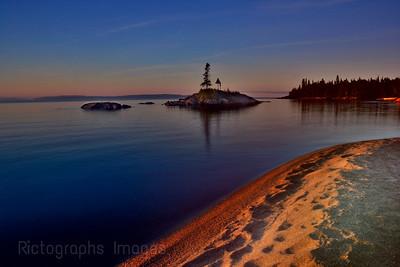 The Beach, Terrace Bay, Ontario, Canada,