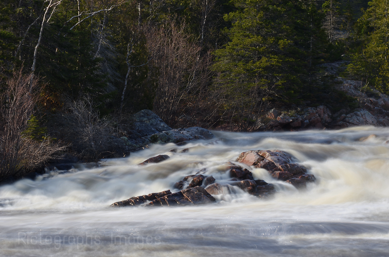 Aguasabon River, Flowing Waters, Terrace Bay, Ontario, Canada