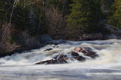 Aguasabon River, Flowing Waters, Terrace Bay, Ontario, Canada