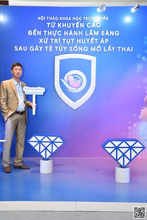 Aguettant Vietnam | Hội thảo Khoa học và Đào tạo Trực tuyến | Chụp hình hình in ảnh lấy ngay Hội thảo tại Hà Nội | Photobooth Hanoi