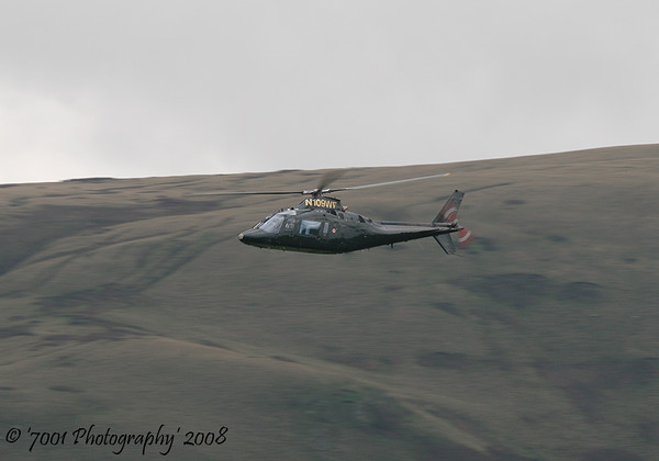 N109WF Agusta 109 - 9th September 2008.