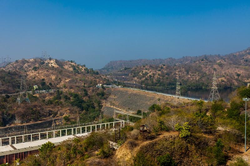 Sardar Sarovar dam, Kevadia, Gujarat, India