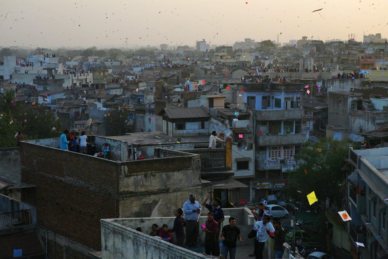 Makar Sankranti is the kite flying festival in India