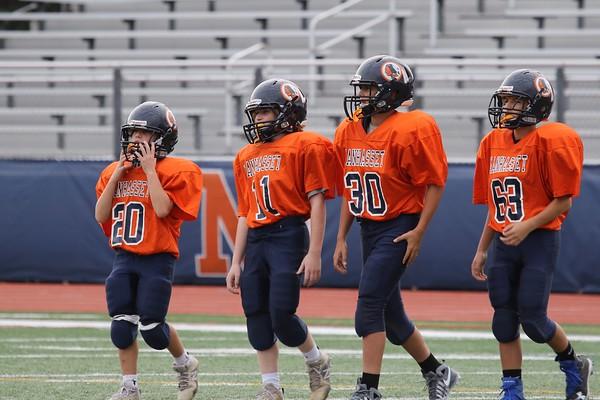 Set vs Salk 7th grade football