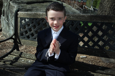 Aidan's communion