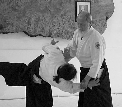 Mehter Sensei at Capital Aikikai - July 23, 2005