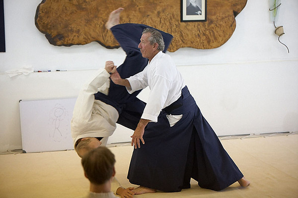 Nadeu Sensei at Capital Aikikai - September 2009