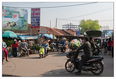 Au marché local de Kampot