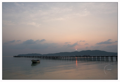 Saracen Bay - lever de soleil