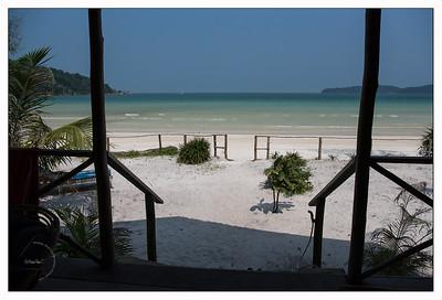 Saracen Bay Resort - vue du bngalow