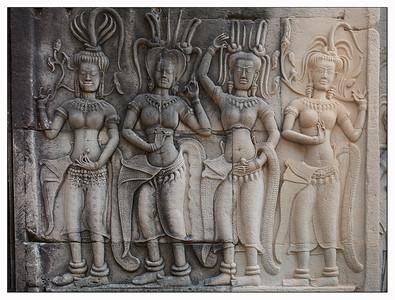 Angkor Vat - les Apsaras