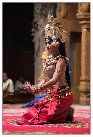 Spectacle de danse Asparas, danseuses célestes