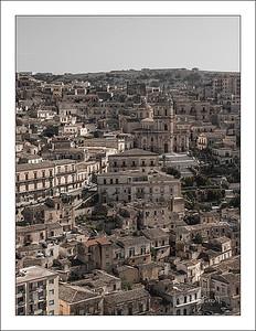 Modica, ville baroque typique de la Sicile du Sud