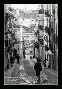 Ruelle de l'élévador de Santa Catarina