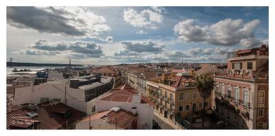Panoramique depuis la terrasse duMonte Belvèdère