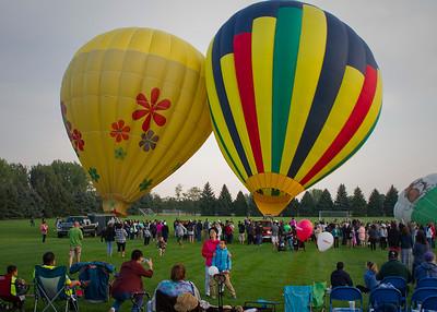 The Great Aardvark Embark Hot Air Balloon Launch
