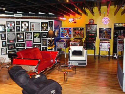 Memorabilia Game Rooms