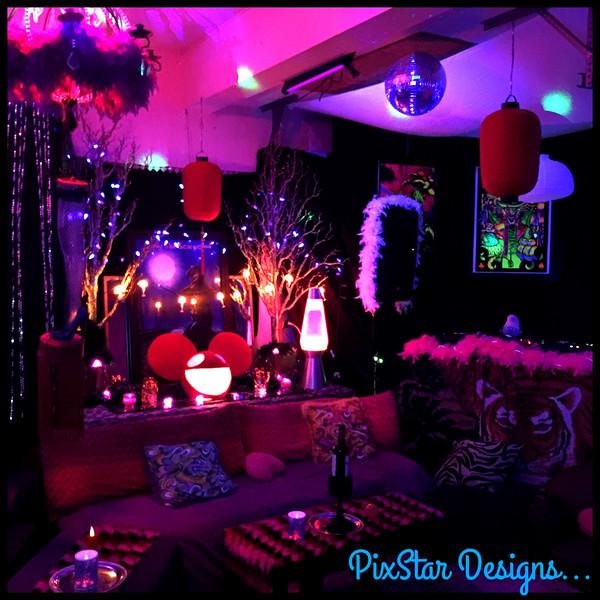 Disco Lounge by PixStar Designs