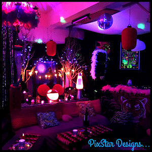 Disco Lounge by PixStar Designs