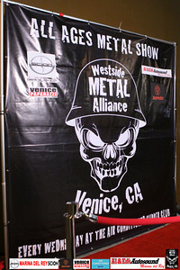 THANKS TO THE AIR CONDITIONED SUPPER CLUB, TOYOTA MARINA DEL REY AND AL and ED's AUTOSOUND FOR ALL YOUR SUPPORT. For booking and information. Westside Metal Alliance.  http://www.westsidemetalalliance.com Air Conditioned Supper Club. 625 Lincoln Blvd. Venice, Ca 9029.  http://www.airconditionedbar.com. Photo by Venice Paparazzi.  http://www.venicepaparazzi.com. Marina Del Rey Toyota. http://www.marinadelreytoyota.com. Al and Ed's Autosound.   The Original Mobile Electronic Experts since 1954. ww.al-eds.co