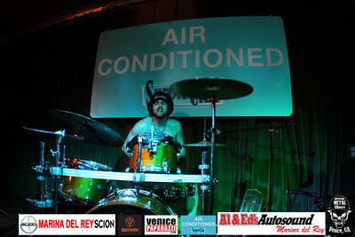 For booking and information. Westside Metal Alliance.  http://www.westsidemetalalliance.com Air Conditioned Supper Club. 625 Lincoln Blvd. Venice, Ca 9029.  http://www.airconditionedbar.com. Photo by Venice Paparazzi.  http://www.venicepaparazzi.com.