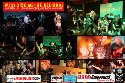 For WESTSIDE METAL ALLIANCE'S booking and information.  http://www.westsidemetalalliance.com. Air Conditioned Supper Club. 625 Lincoln Blvd. Venice, Ca 90291.  http://www.airconditionedbar.com. Photos by VENICE PAPARAZZI.  www.venicepaparazzi.com