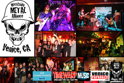Stay tuned for the big outdoor WSMA metal festival on the Venice Beach Boardwalk on October 30th & 31st. For booking and information. http://www.westsidemetal.com.  Photos by Venice Paparazzi.  www.venicepaparazzi.com