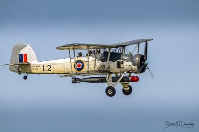 Fairey SWORDFISH MkII LS326 at Shoreham Airshow, 2013