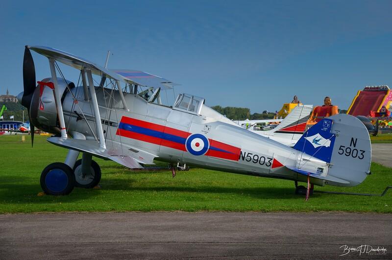 N5903, Gloster Gladiator