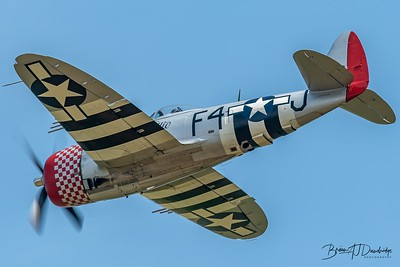 "Republic P-47D Thunderbolt '549192 / F4-J' ""Nellie"""