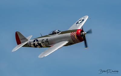 "Republic P-47D Thunderbolt '549192 / F4-J' ""Nellie"""