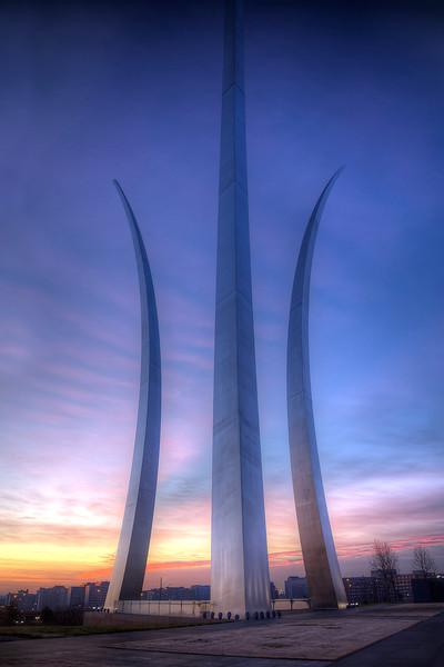 Veterans Day: Air Force Memorial in Arlington, VA