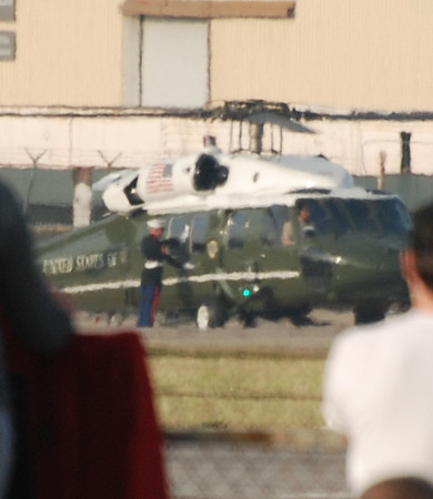 MARINE ONE ON THE DECK