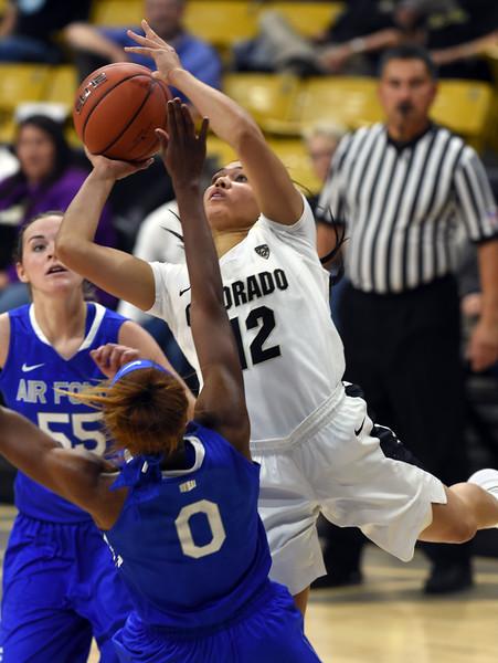 Colorado Air Force NCAA Women's Basketball