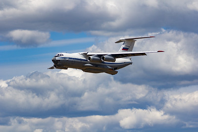 Il-76MD (also known as Il-76MDP with water bombing conversion which can be removed)
