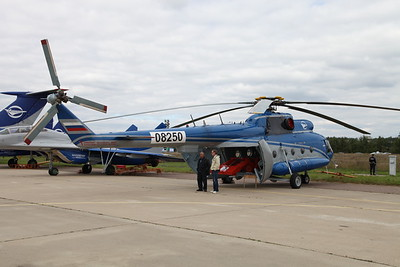 Mi-8T Flying Testbed (Russia)
