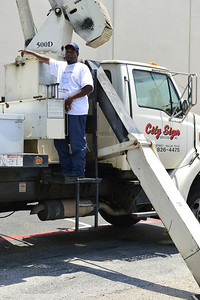 Patrick, the Crane Operator from City Sign