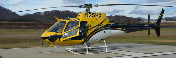 2007 Eurocopter AS-350-B3<br /> Tail # N25HX<br /> S/N # 4355<br /> <br /> Andrew Messer Photo