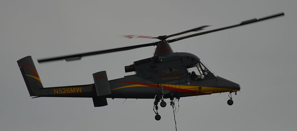1994 Kaman K-MAX K-1200<br /> Firefighting Helicopter<br /> Tail # N526MW<br /> S/N # 0004<br /> <br /> Andrew Messer Photo