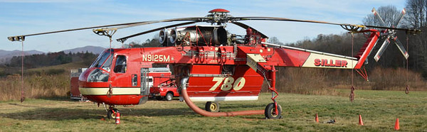 1968 Sikorsky SkyCrane CH-54A<br /> 2600gal<br /> Tail # N9125M<br /> S/N # 64-057<br /> <br /> Formerly served US Army at 295th Aviation Company at Finthen Army Airfield in Rhineland-Palitinate, Germany as 68-18455