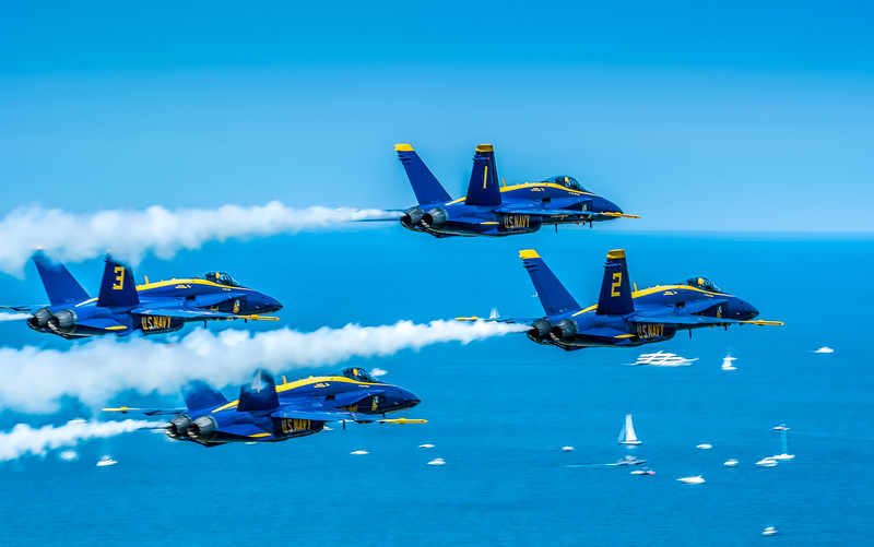 Eye-Level With The Blue Angels