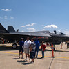 F-35 Joint Strike Fighter, Andrews AFB Joint Services Open House, May 19, 2007.