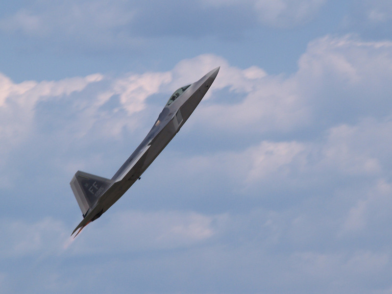 F-22 Raptor, Andrews AFB Joint Services Open House, May 19, 2007.