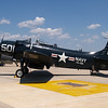 A-1 Skyraider, Andrews AFB Joint Services Open House, May 19, 2007.