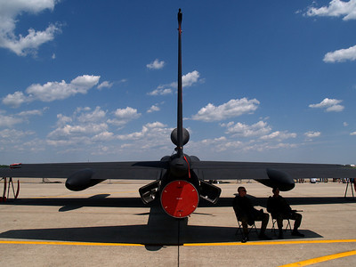 U-2S spy plane at Andrews AFB Joint Services Open House, May 19, 2007.